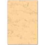 Cartulina marmoleada tamaño A4 200 gr color ocre paquete de 100 hojas