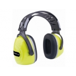 Deltaplus INTERJAFL - Casco antiruido, color amrillo fluorescente - negro