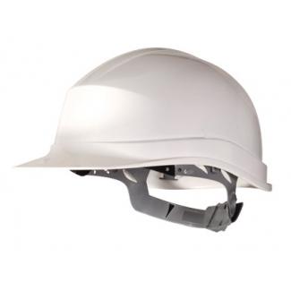 Deltaplus ZIRC1BC - Casco de protección, polietileno, color blanco