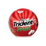 Chicle Trident fruit fresa esfera de 87 gr