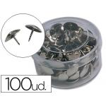 Chinchetas Liderpapel caja de 100 unidades