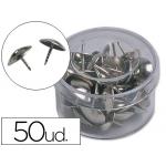Chinchetas Liderpapel caja de 50 unidades