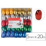 Liderpapel LZ06 - Cinta fantasía, colores surtidos 20 mt x 5 mm