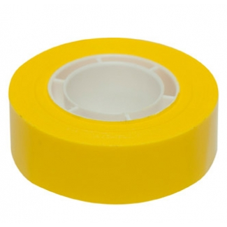 Apli 12274 - Cinta adhesiva, 19 mm x 33 mt, amarillo