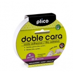 Cinta adhesiva Plico doble cara 15 mm x 20 mt