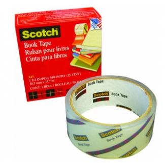 Cinta adhesiva Scotch 845 book tape 76,2 mm x 13,7 mt