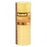 Cinta adhesiva Scotch acordeón etiquetado 508 12x33 mm paquete de 12