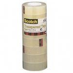 Cinta adhesiva Scotch acordeón pack 8 550 19x33 mm
