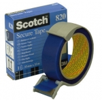 Scotch 820 - Cinta adhesiva postal, 33 mm x 35 mt, azul