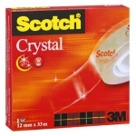 Cinta adhesiva Scotch supertransparente 33x12 mm