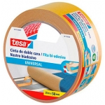 Cinta adhesiva Tesa doble cara universal 25 m x 50 mm