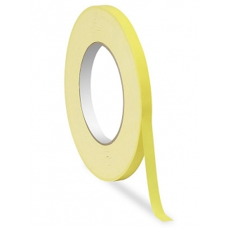 Tesa 4204-40 - Cinta adhesiva para cerrar bolsas, 9 mm x 66 mt, amarillo