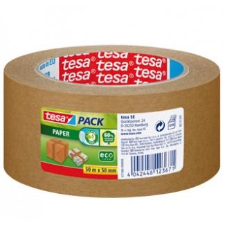Opina sobre Tesa 57180-01 - Cinta adhesiva para embalar, 50 mm x 50 mt, papel kraft, marrón
