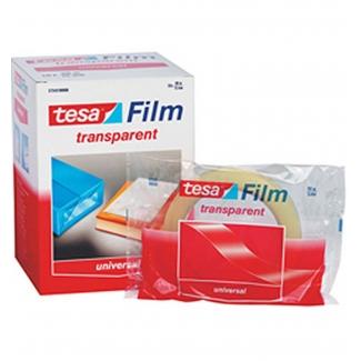 Tesa 57352 - Cinta adhesiva, 15 mm x 33 mt, transparente