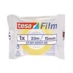 Tesa 57381-0001-00 - Cinta adhesiva, 15 mm x 33 mt, transparente