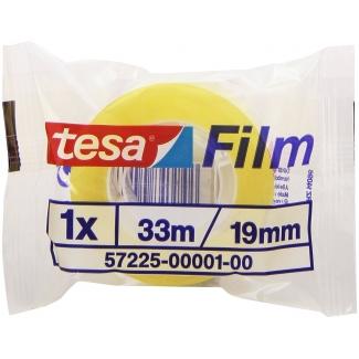 Tesa 57225-00001-00 - Cinta adhesiva, 19 mm x 33 mt, transparente