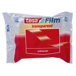 Cinta adhesiva Tesa transparente 66 mt x 19 mm