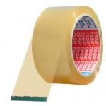 Cinta adhesiva Tesa transparente 66 mt x 50 mm para embalaje