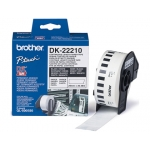 Cinta de papel continuo Brother para impresoras ql 29 mm mt s