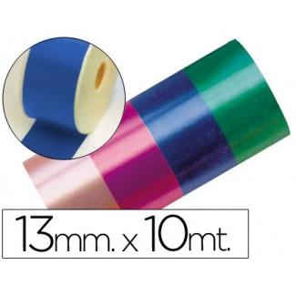 Liderpapel 2412-35 - Cinta fantasía, color azul, 10 mt x 13 mm