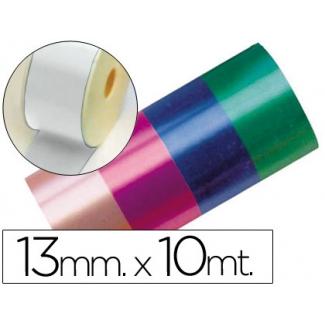 Liderpapel 2412-01 - Cinta fantasía, color blanco, 10 mt x 13 mm
