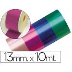 Cinta fantasía 10 mt x 13 mm color fucsia