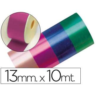 Liderpapel 2412-25 - Cinta fantasía, color fucsia, 10 mt x 13 mm