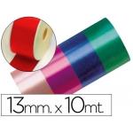 Cinta fantasía 10 mt x 13 mm color rojo