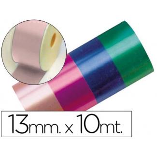 Liderpapel 2412-21 - Cinta fantasía, color rosa, 10 mt x 13 mm
