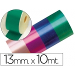 Cinta fantasía 10 mt x 13 mm color verde