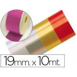 Cinta fantasía 10 mt x 19 mm color fucsia