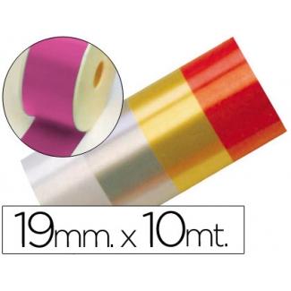 Liderpapel 2412-25 - Cinta fantasía, color fucsia, 10 mt x 19 mm