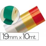 Cinta fantasía 10 mt x 19 mm color verde