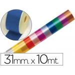 Cinta fantasía 10 mt x 31 mm color azul