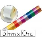 Cinta fantasía 10 mt x 31 mm color blanco