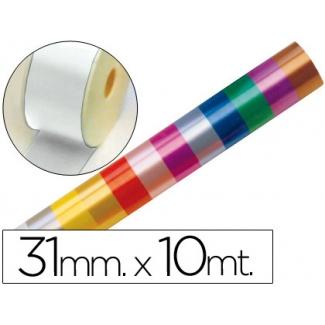 Liderpapel 2410-01 - Cinta fantasía, color blanco, 10 mt x 31 mm