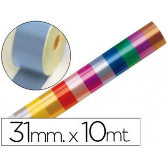 Liderpapel 2410-31 - Cinta fantasía, color celeste, 10 mt x 31 mm