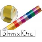 Cinta fantasía 10 mt x 31 mm color oro