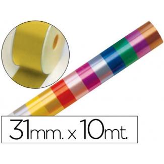 Liderpapel 2410-15 - Cinta fantasía, color oro, 10 mt x 31 mm