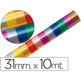 Liderpapel 2410-99 - Cinta fantasía, colores surtidos, 10 mt x 31 mm