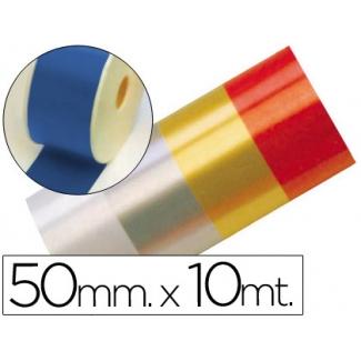 Liderpapel 2410-35 - Cinta fantasía, color azul, 10 mt x 50 mm