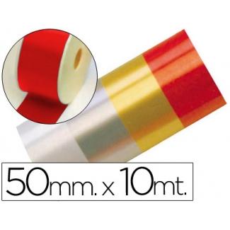 Liderpapel 2410-20 - Cinta fantasía, color rojo, 10 mt x 50 mm