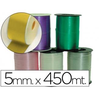 Liderpapel 1000-15 - Cinta para hacer lazos, color oro, 450 mt x 5 mm