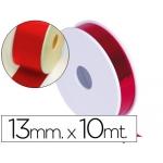 Cinta fantasía metalizada 10x13 color rojo