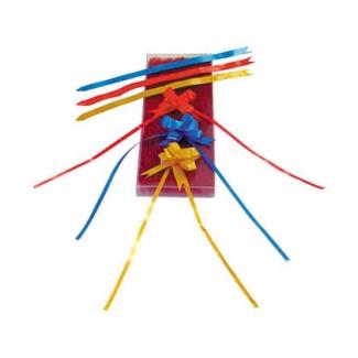 Liderpapel 2201-20 - Cinta para hacer lazos, automatico, color rojo, 13 mm