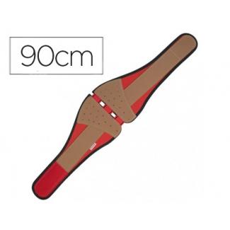 Cinturón Faru antilumbago con cierre velcro talla 6 medida cintura 90 cm