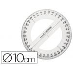 Circulo plástico Liderpapel 10 cm