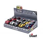 Coche Diset miniatura go mini crew zers modelos color surtidos