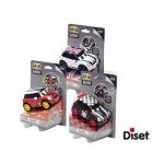 Coche Diset miniatura pilueta go mini stunt racers modelos suridos