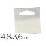 Colgador con adhesivo 3m hang tab rollo etiquetas48x36 mm